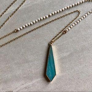 ❗️LAST❗️Amazonite Rosary Bead Necklace